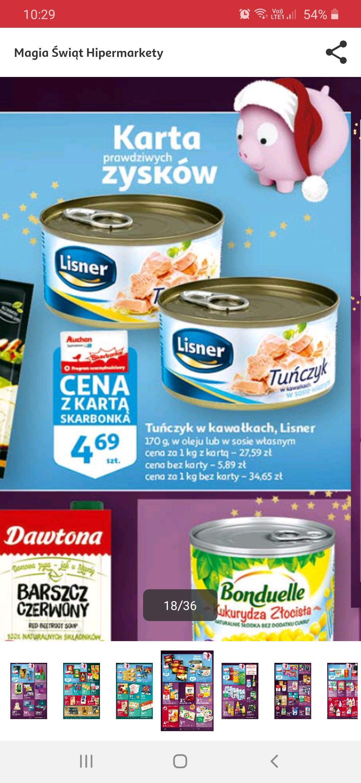 Tuńczyk Lisner w kawałkach @ Auchan