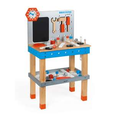 Stół warsztatowy dla dzieci Janod BRICO'KIDS za 287zł @ Pink or Blue