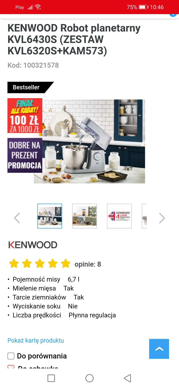 Kenwood Chef XL Elite 1400 w