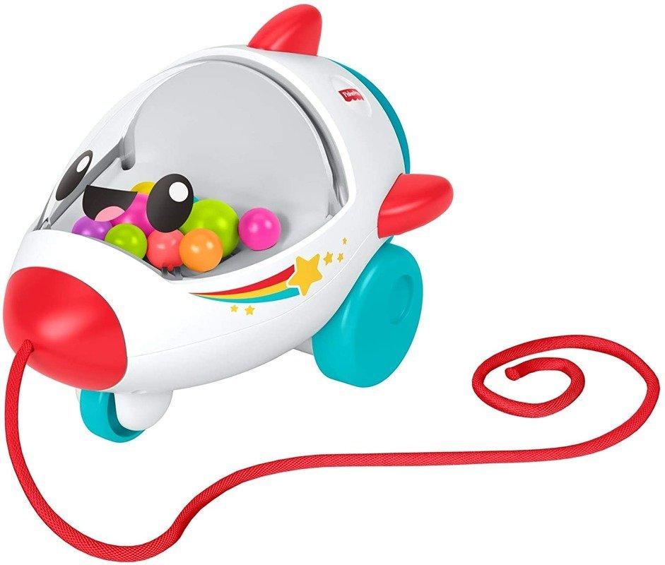 Fisher-Price, zabawka do ciągnięcia Wesoła Rakieta w Empik