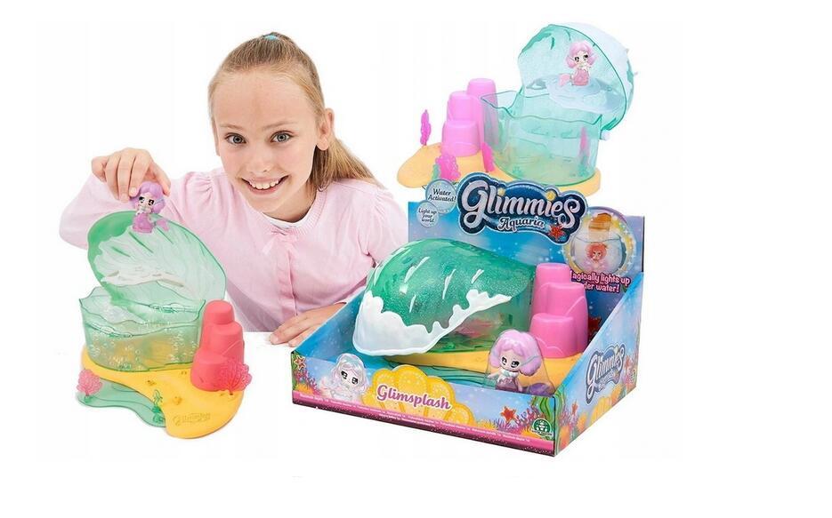 Glimmies Aquaria, Glimsplash, domek, zestaw z figurką