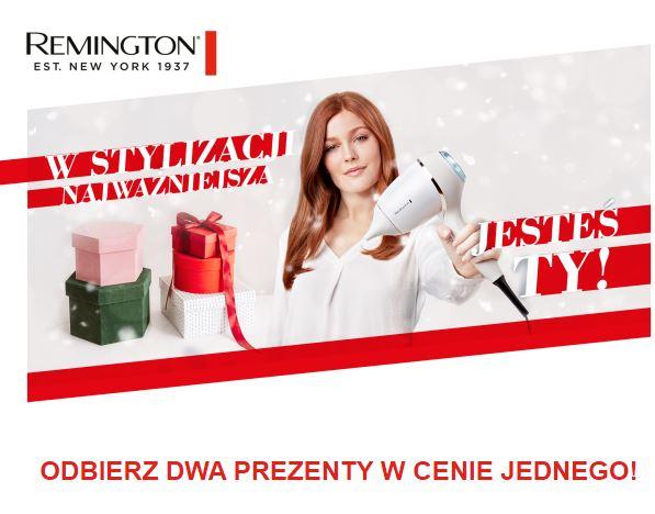 Remington - gratis zestaw kosmetyków po zarejestrowaniu produktu