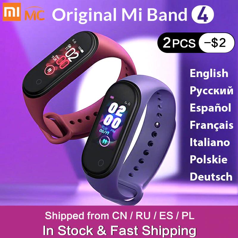 Xiaomi Mi band 4 Wysyłka z PL Inpost US $19.99 wysyłka z Polski