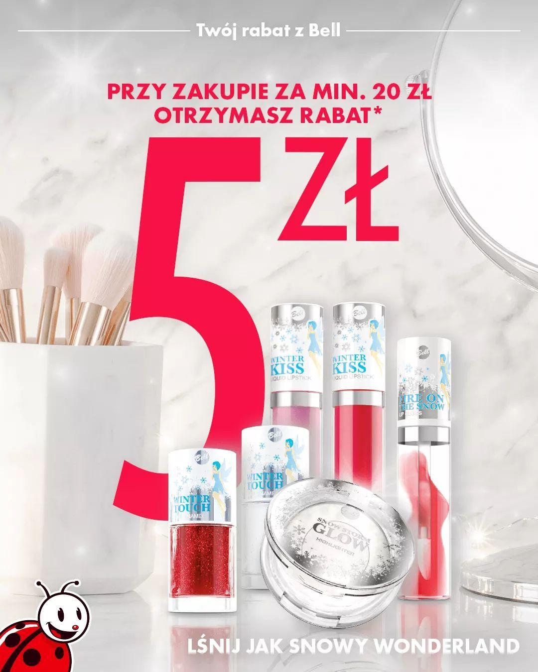 Odbierz 5 zł rabatu kupując kosmetyki firmy Snowy Wonderland. Biedronka