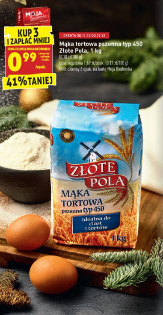 Mąka pszenna tortowa typ 450 Biedronka