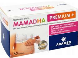 Mamadha premium+ witaminy dla kobiet w ciąży tylko dzisiaj wysyłka 2.99