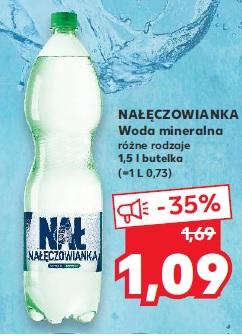 Nałęczowianka woda mineralna 1,5l Kaufland