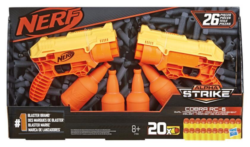 Zestaw pistoletów NERF Hasbro + 20 strzałek