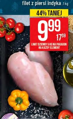 Filet z piersi INDYKA za 9,99zł/kg w POLOmarket