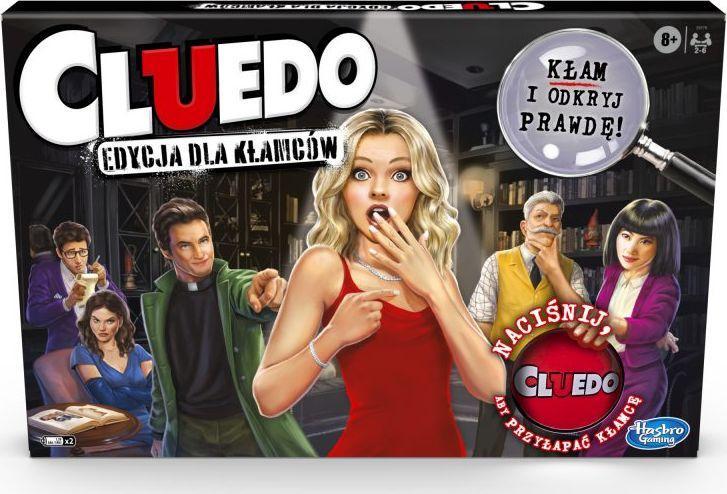 gra Hasbro Cluedo Edycja dla Kłamców