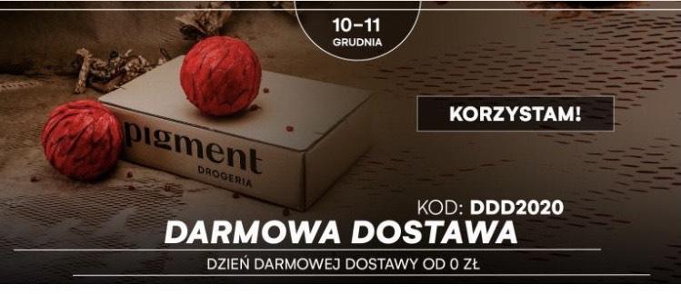 Darmowa dostawa od 0zł w drogerii Pigment