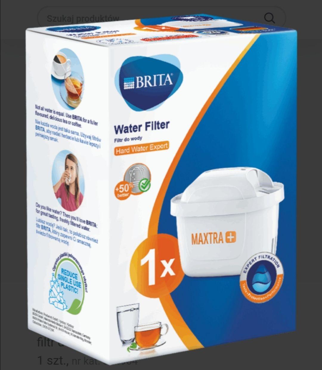 Brita Maxtra Hard Water 15,99 oraz Pure Performance 14,99 @Rossmann