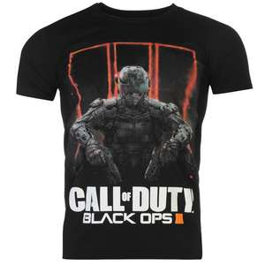 Koszulka Official Call of Duty Black Ops 3 T Shirt Mens