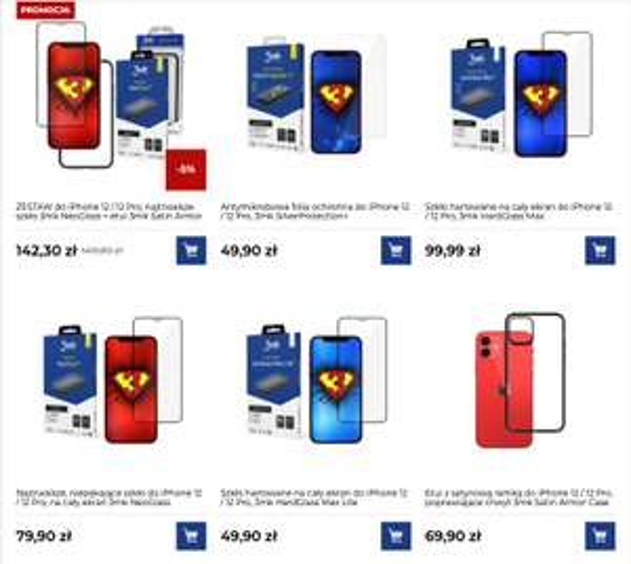 Dzień darmowej dostawy w 3mk bez MWZ (folie i szkła ochronne na telefony, tablety etc.)