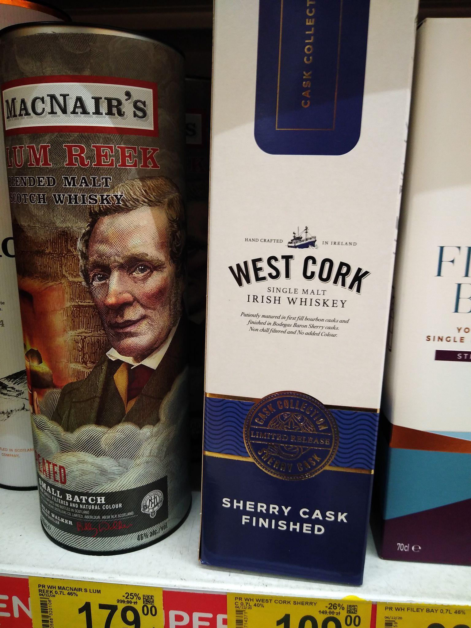 Carrefour Szczecin Turzyn Whisky zbiorcza