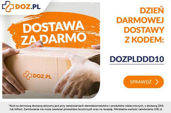 DOZ - darmowa dostawa, min.100 zł, dermokosmetyki i produkty nielecznicze