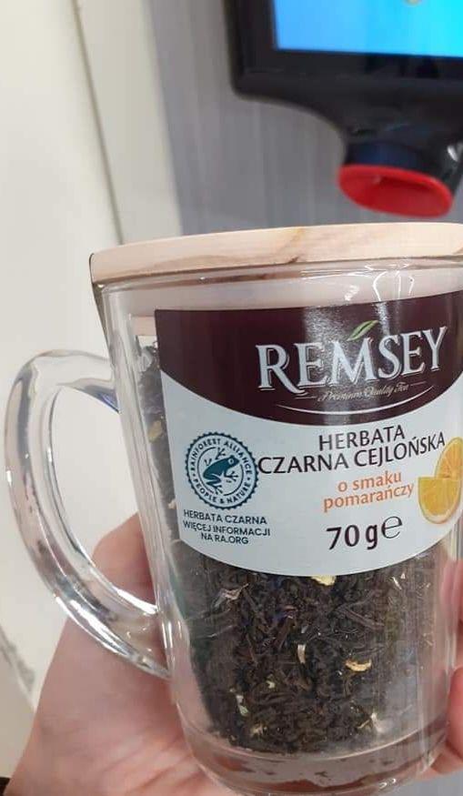 Herbata czarna REMSEY z kubkiem