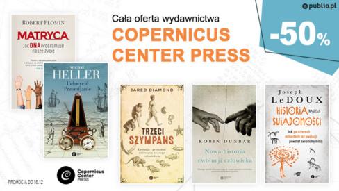 Copernicus Center Press o 50% taniej w Publio