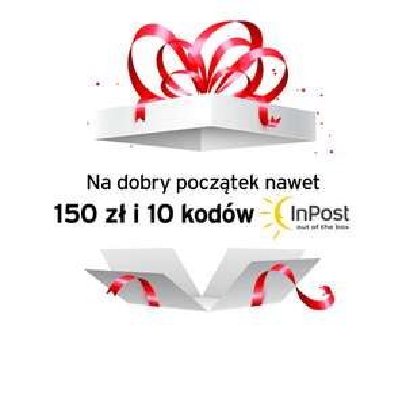 10 darmowych wysyłek z Paczkomatów InPost oraz do 150 zł dla nowych klientów CitiKonta!
