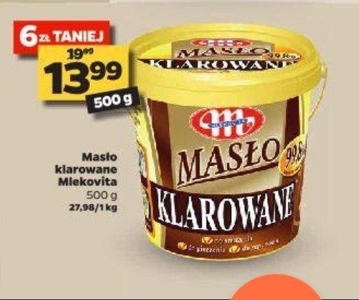 Masło klarowane Mlekovita 500g 13,99 zł w Netto
