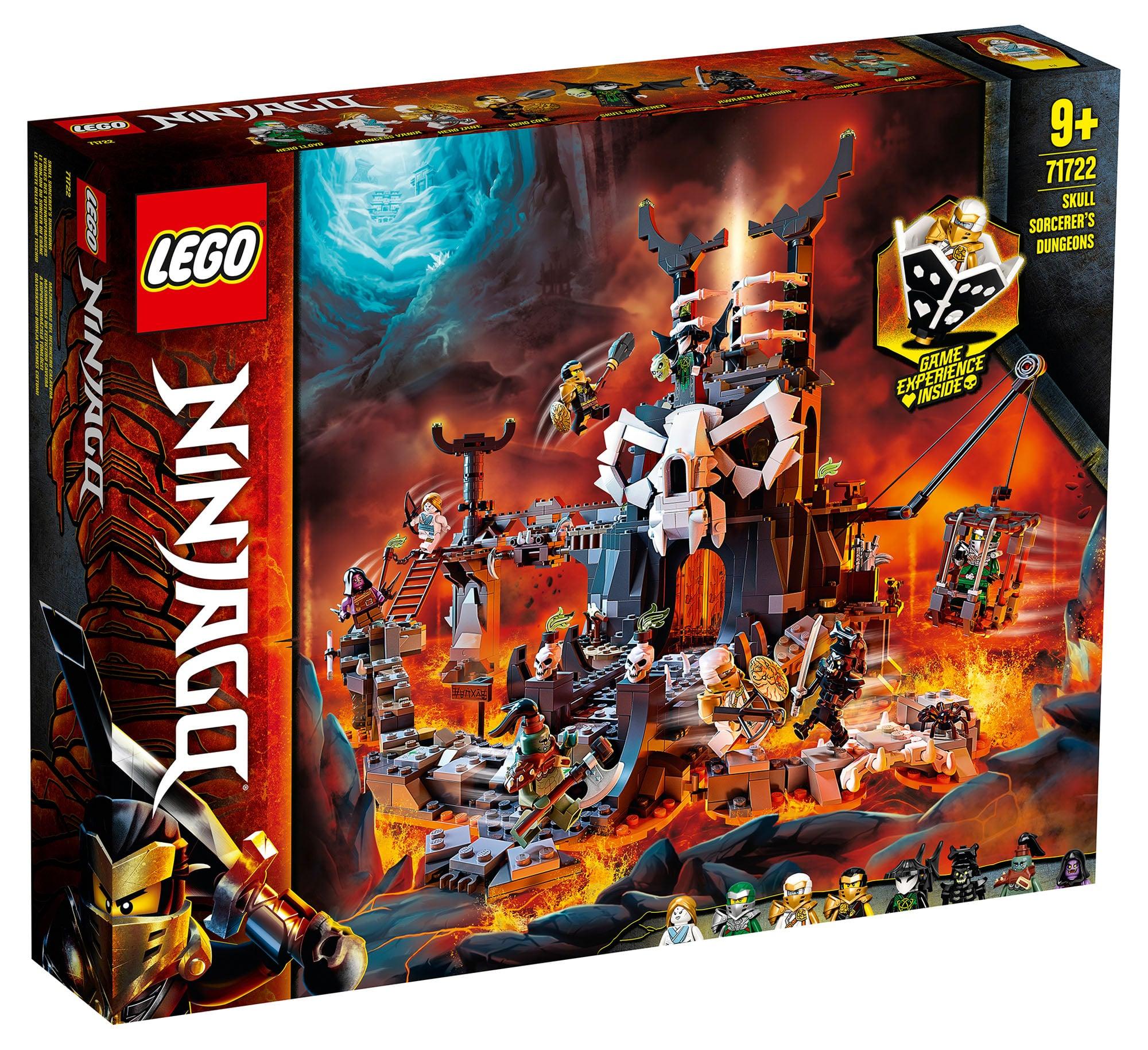 Lego Ninjago 71722 - Lochy Szkieletowego Czarownika