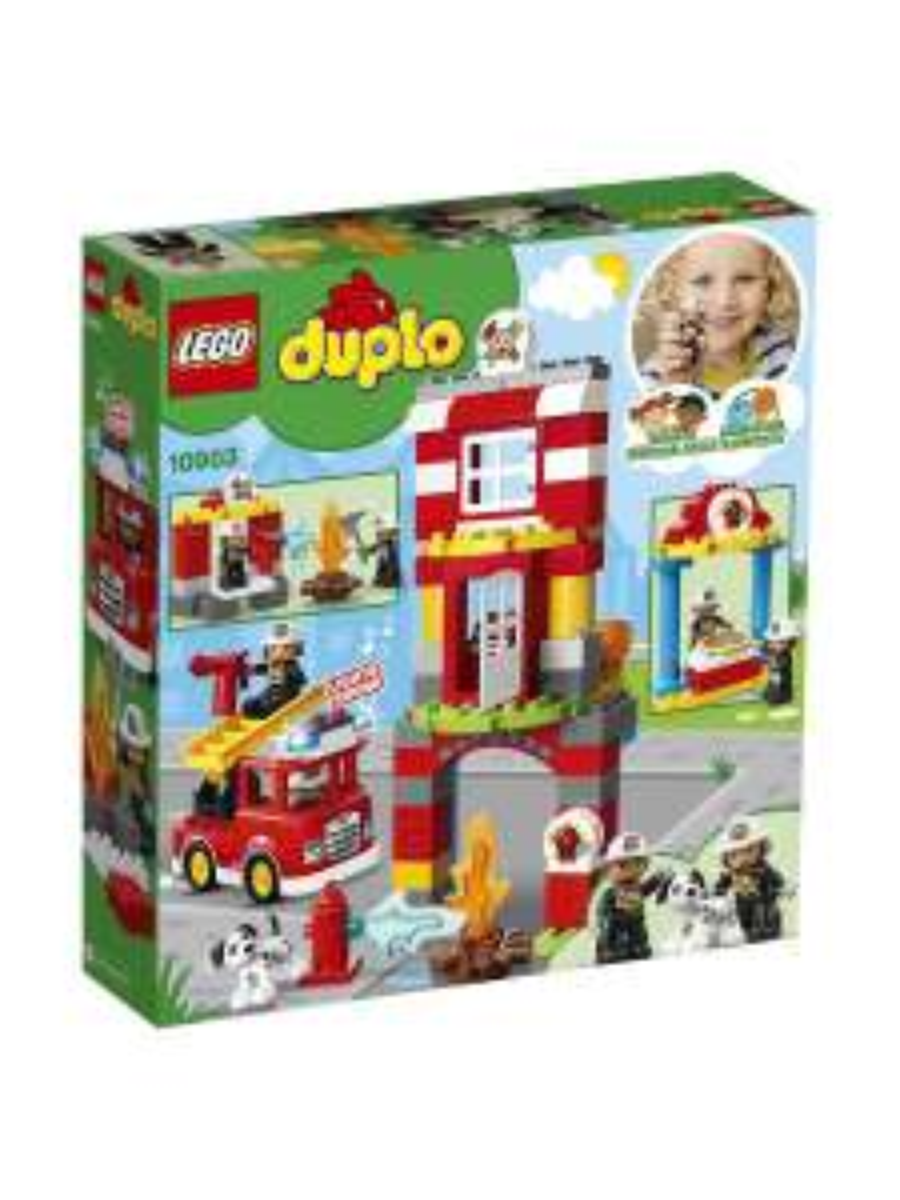Lego Duplo 10903 - Remiza strażacka - Wileberries