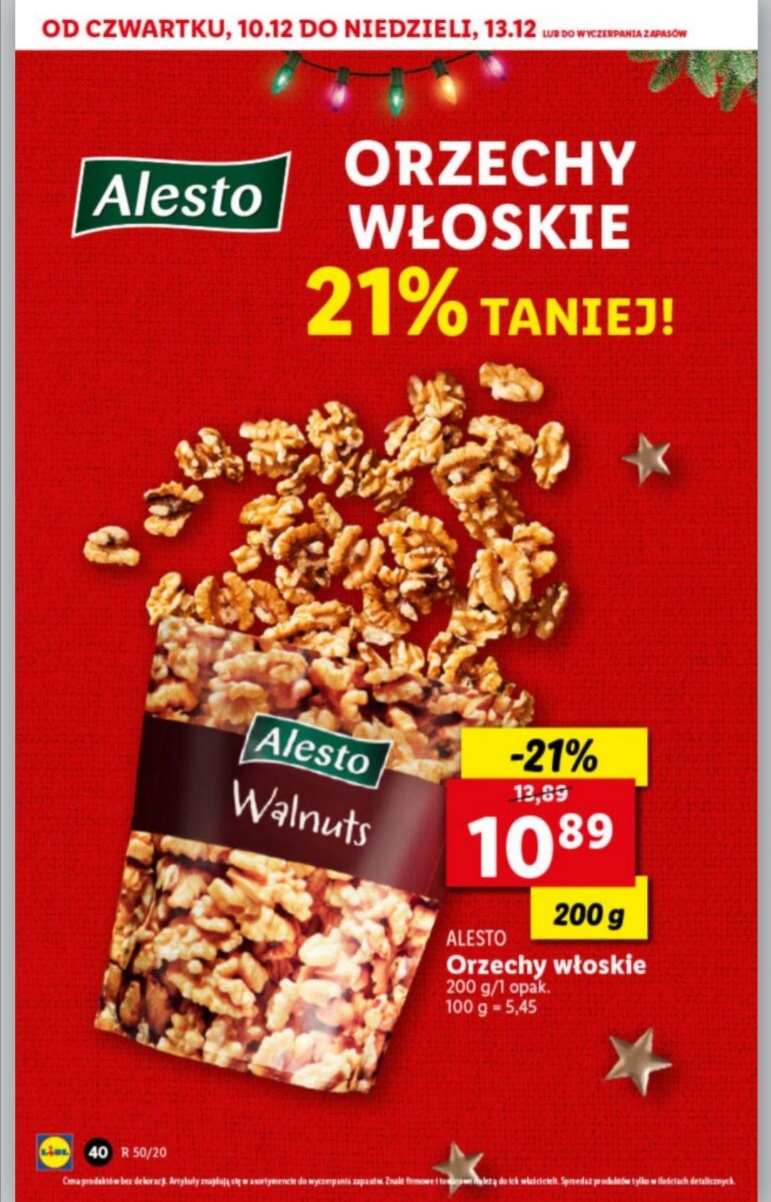 Orzechy włoskie ALESTO - Lidl - 21%