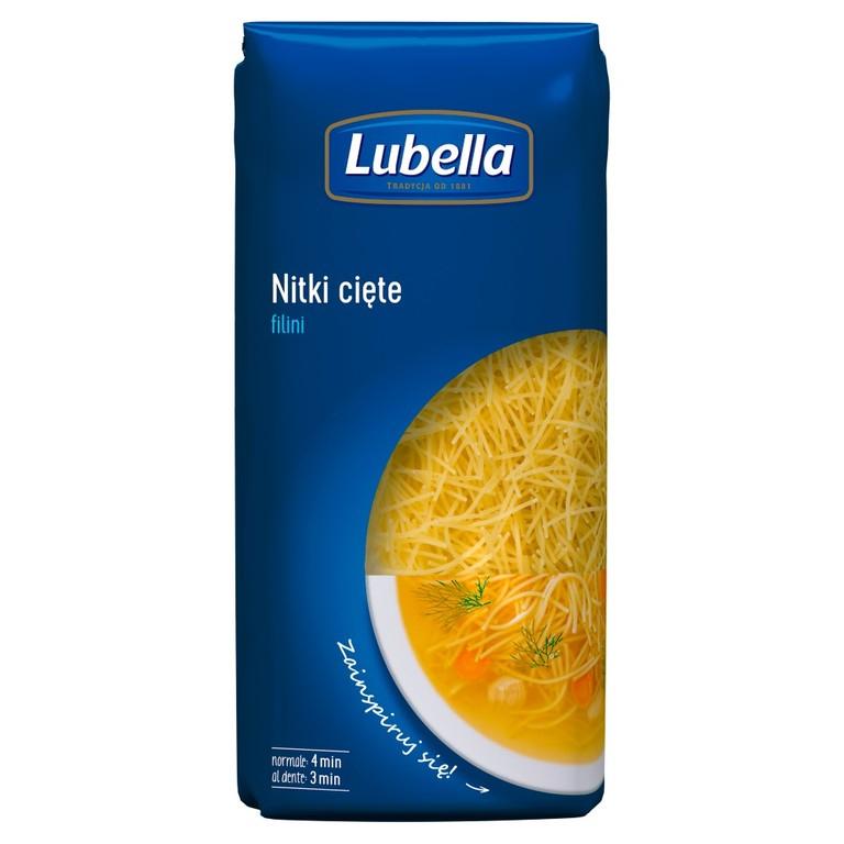 Makaron Lubella 500g (5 rodzajów, MWZ 40 zł, max 3szt/rodzaj)