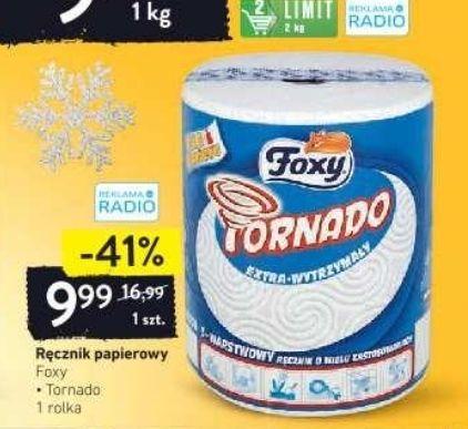 Ręcznik papierowy Foxy Tornado 9,99 zł w Intermarche
