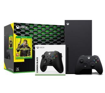 Xbox series x +cyberpunk 2077 + pad
