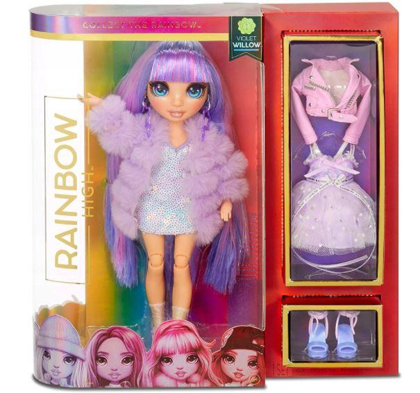 RAINBOW HIGH fioletowa Violet Willow
