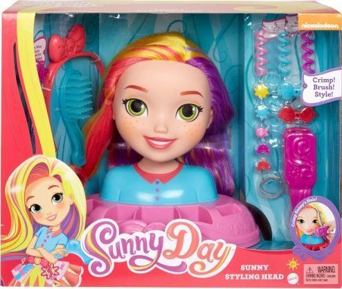Mattel Głowa do stylizacji Sunny