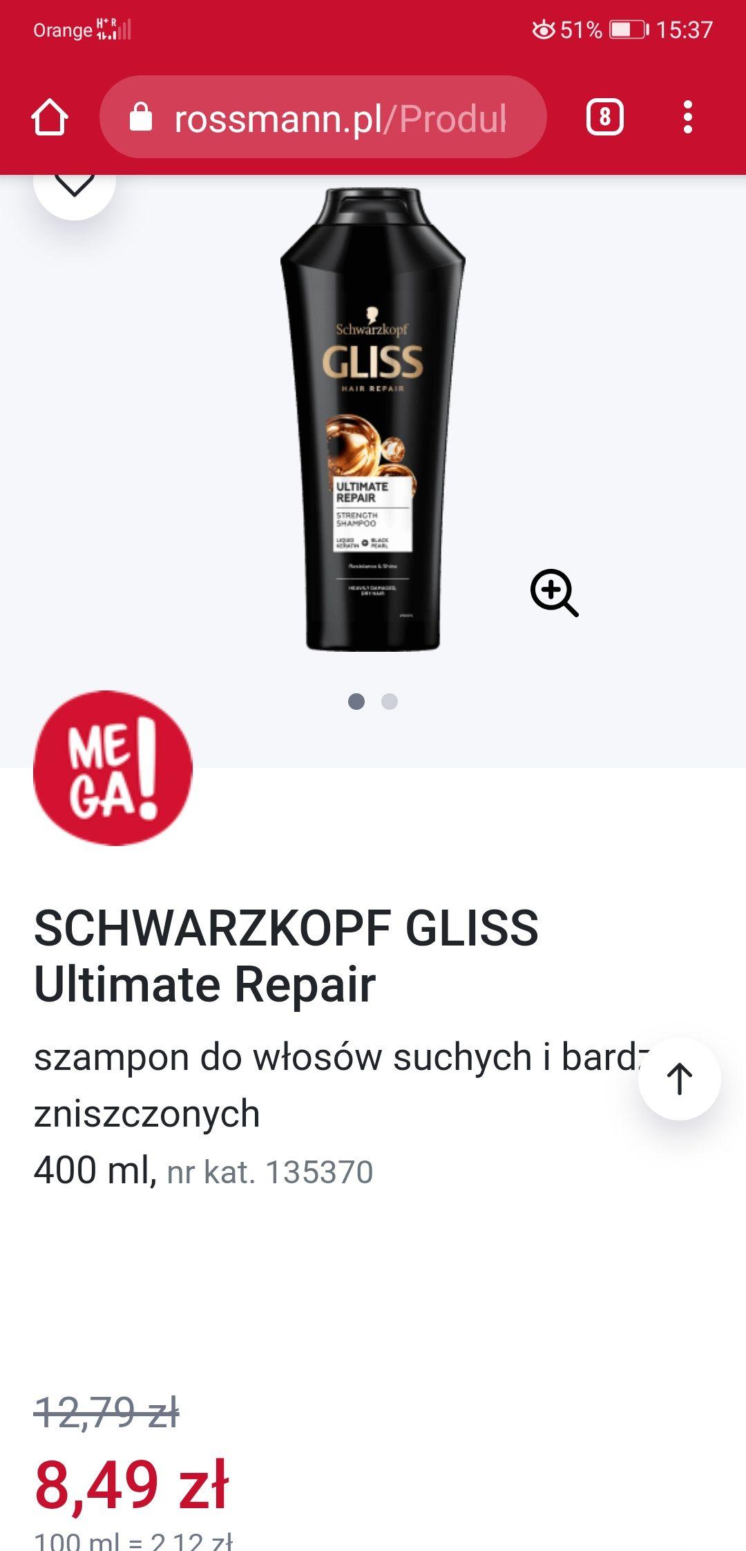 SCHWARZKOPF GLISS Ultimate