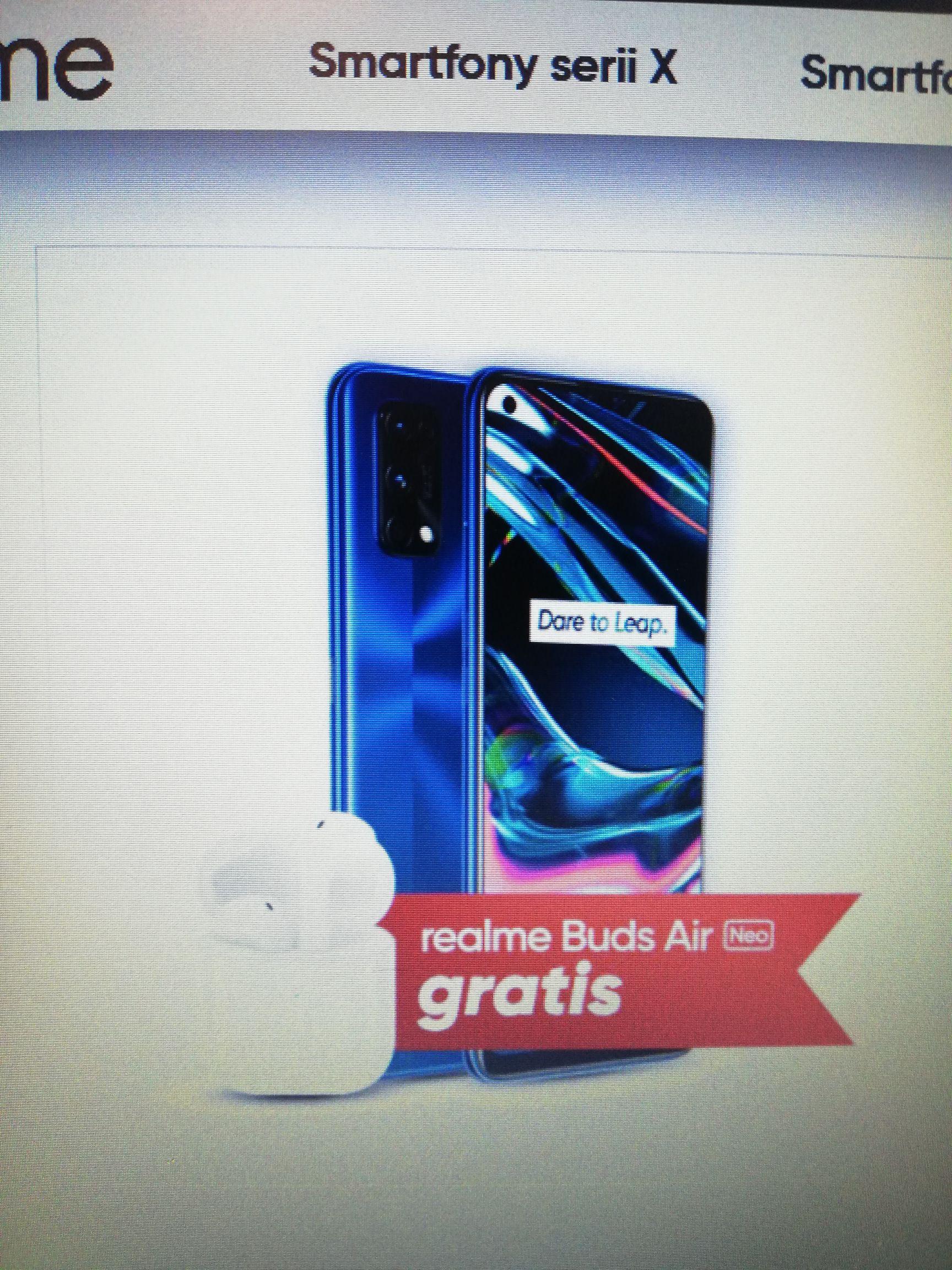 Realme 7 pro + słuchawki realme buds air neo o wartości 150/200 zł, DARMOWA WYSYŁKA !! CZYTAJ OPIS !!