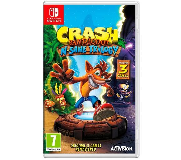 Crash Bandicoot N. Sane Trilogy oraz kilka innych na SWITCH w fajnych cenach