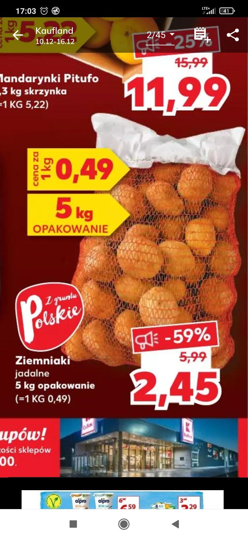 Ziemniaki 5kg kaufland