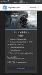 Assassin's Creed Valhalla Ultimate Edition na PS4