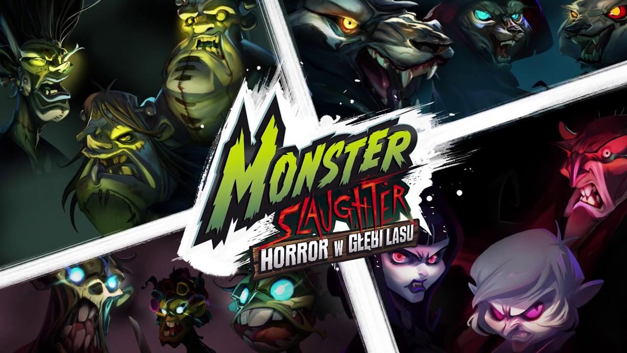 Black Monk, gra planszowa Monster Slaughter Horror W Głębi Lasu
