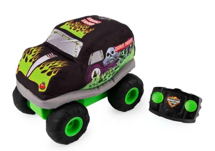 MONSTER JAM pierwszy pojazd zdalnie sterowany dla najmłodszych
