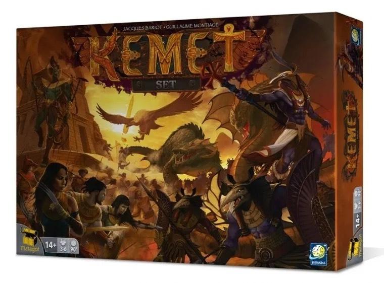 Gry planszowe w Smyku np. Kemet Set 69, KeyForge za 59