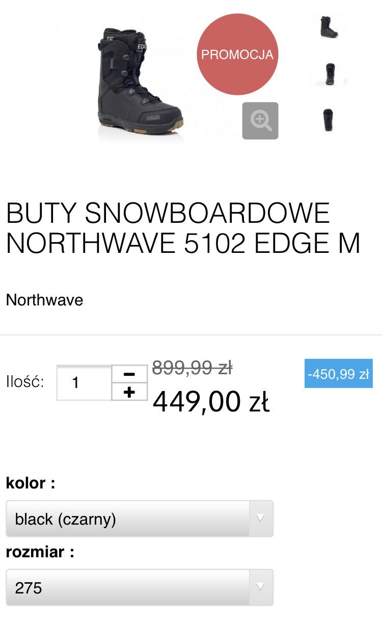 Buty snowboardowe Northwave Edge