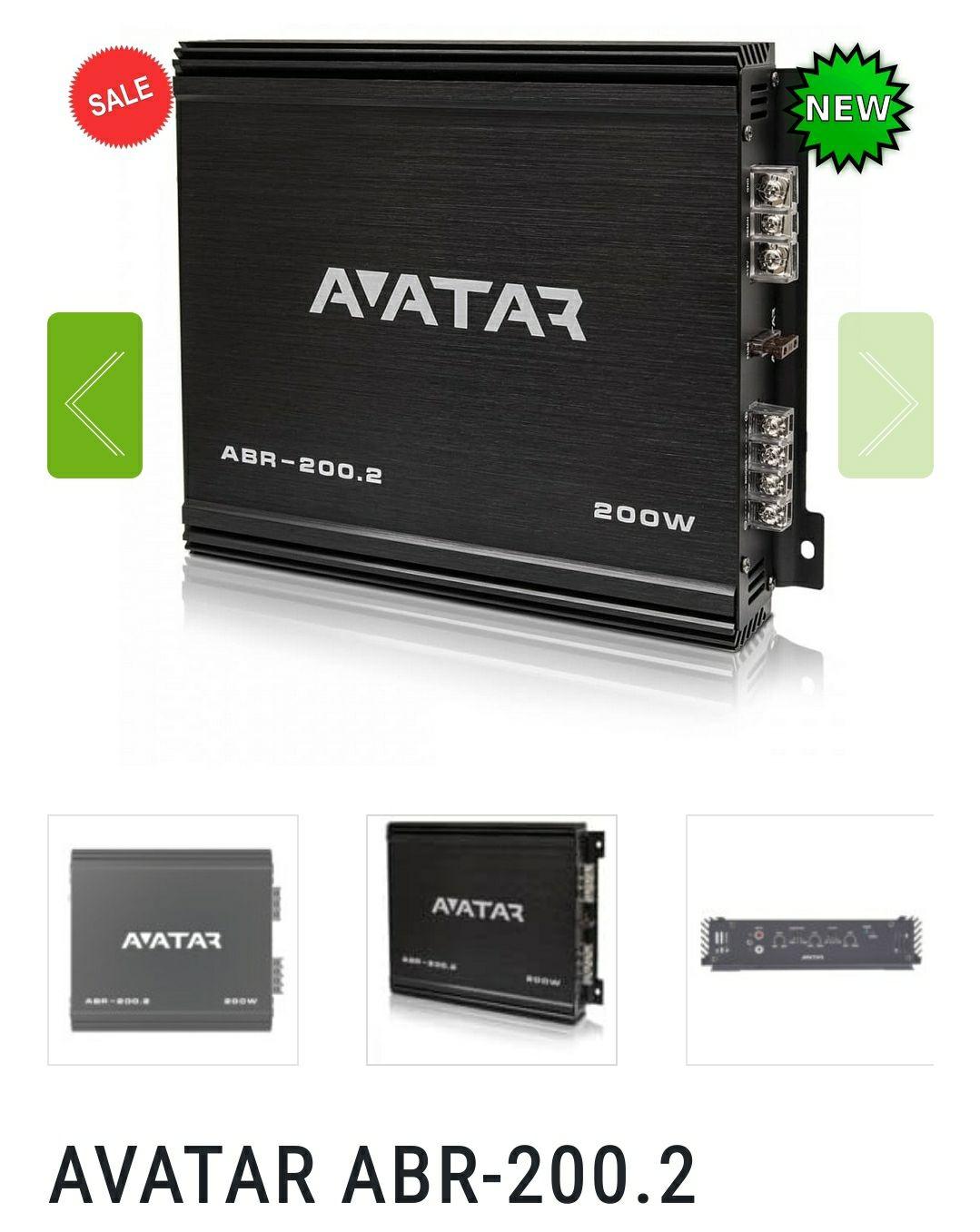 Wzmacniacz Avatar ABR-200.2