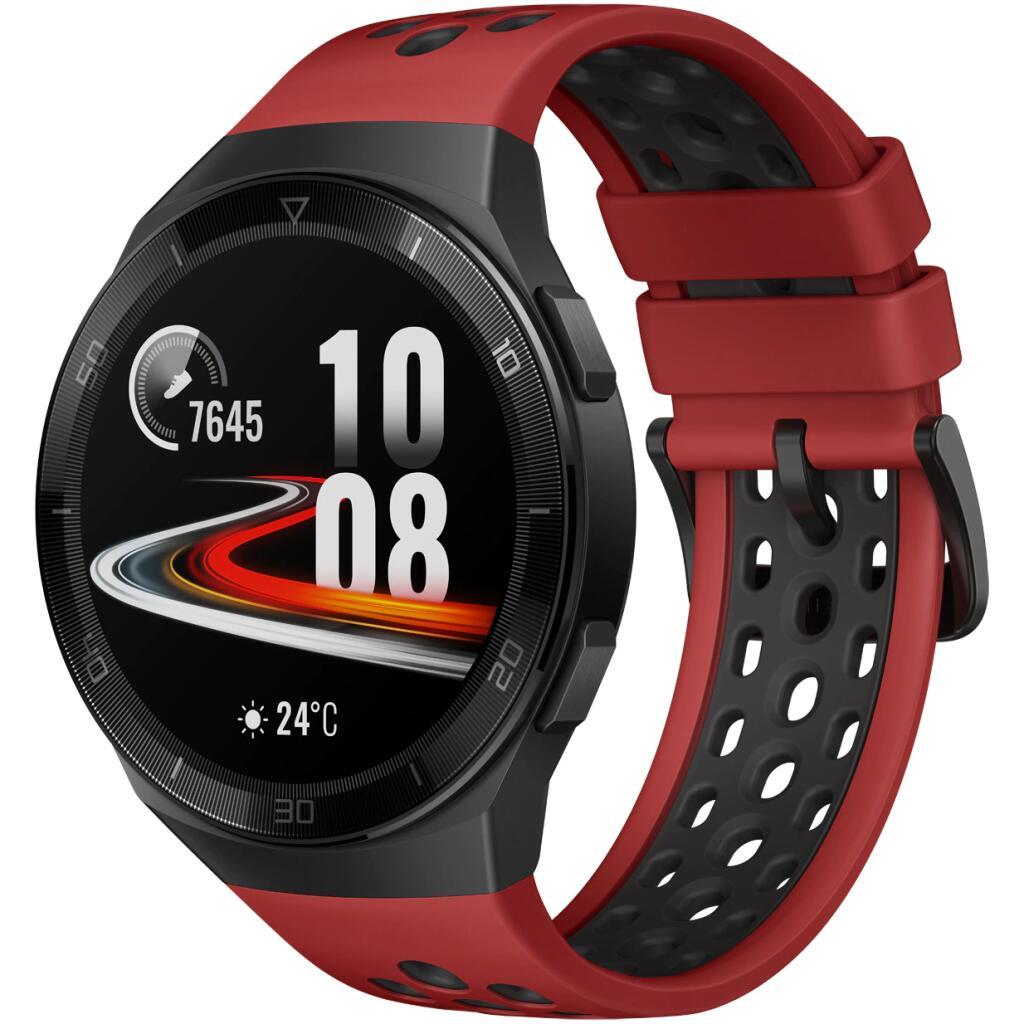 SmartWatch HUAWEI Watch GT 2e Czerwony - 4GB GPS Bateria 14 dni