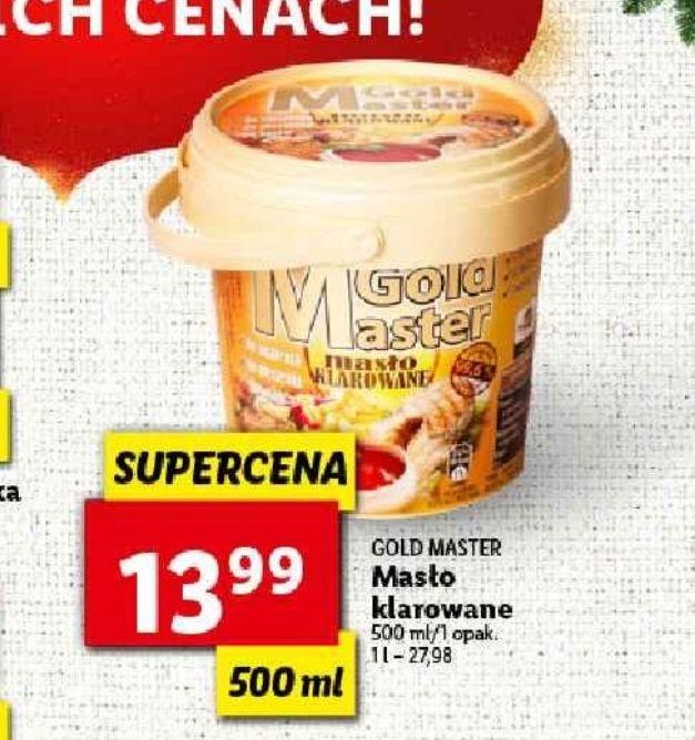 Masło klarowane 500 g za 13,99 w Lidlu