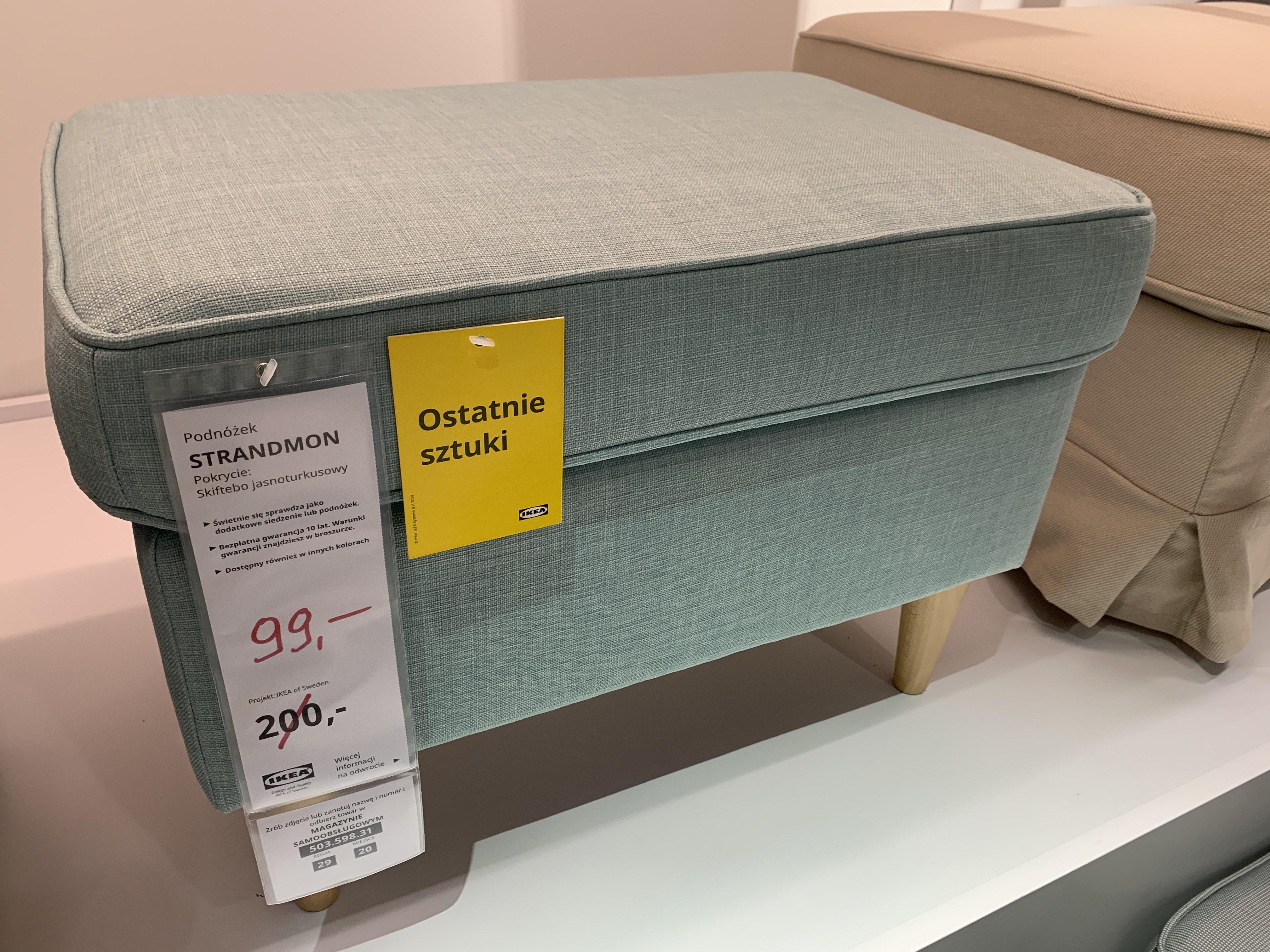 Podnóżek Strandmon IKEA Lublin