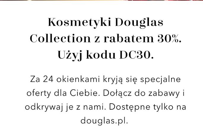 Kosmetyki Douglas Collection z rabatem 30%