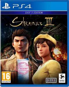 SHENMUE III 3 DAY ONE EDITION PS4 PlayStation 4