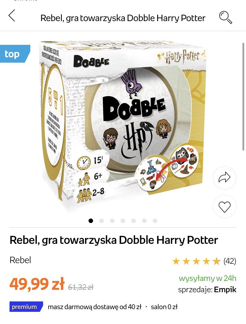 Dobble edycja Harry Potter