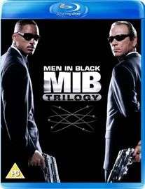 BD combo, 3 filmy Men in Black Trilogy