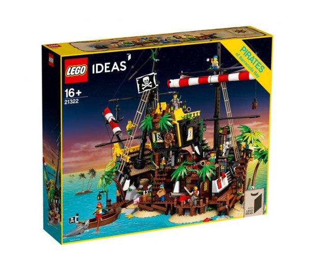 21322 - LEGO Ideas Piraci z Zatoki Barakud